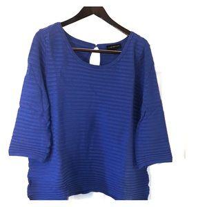 18/20 Lane Bryant Keyhole Back Sweater, 3/4 Sleeve